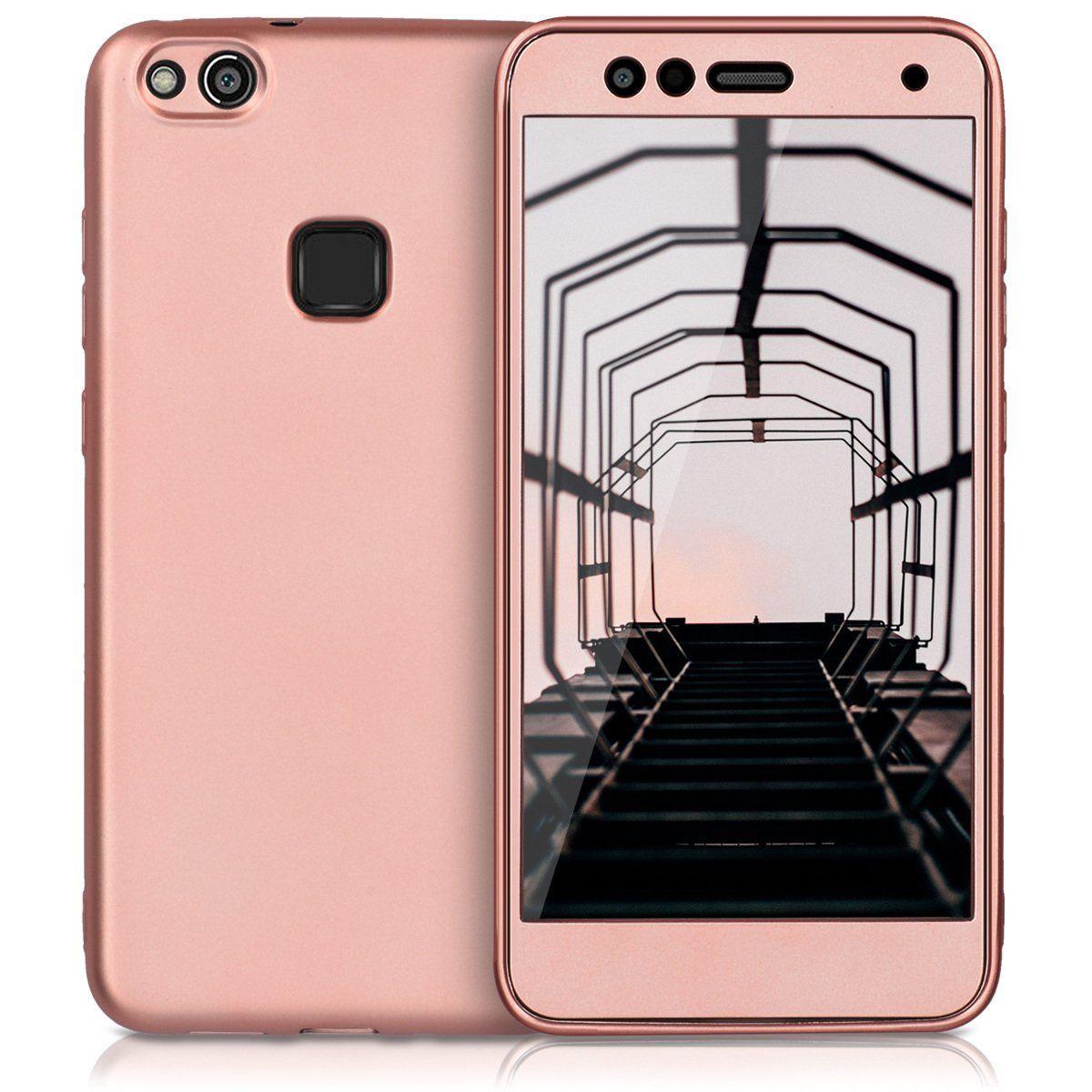 KW 360 Full Cover TPU Case (41904.81) Metallic Rose Gold (Huawei ...