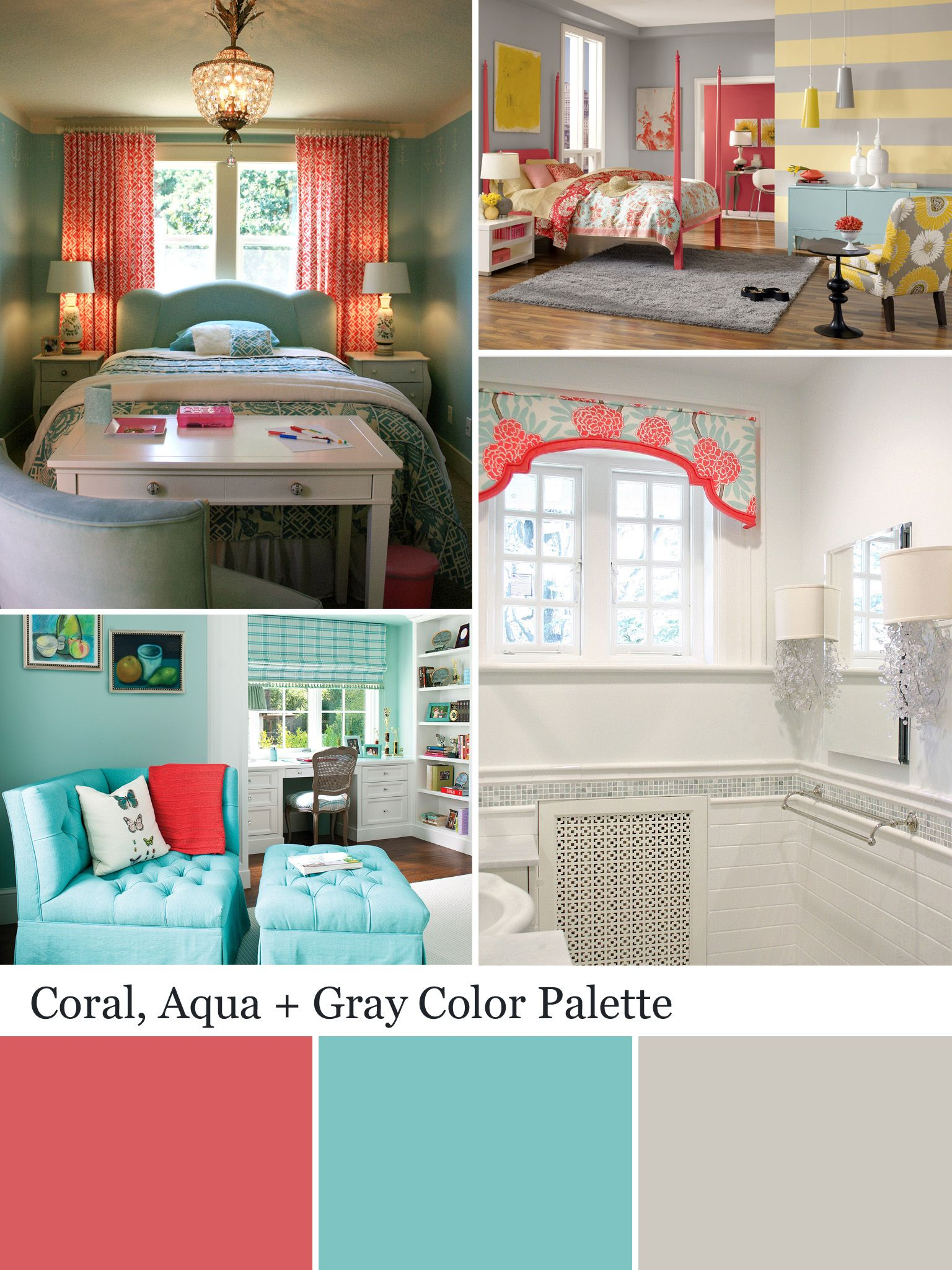 Coral Color Palette Coral Color Schemes Color Combos