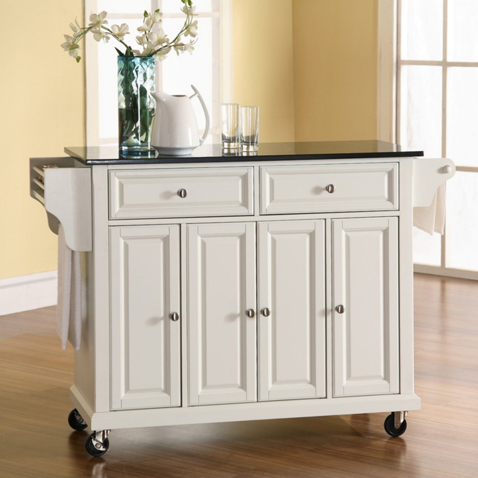 Sensational Crosley Newport Granite Top Kitchen Cart Island Portable Download Free Architecture Designs Scobabritishbridgeorg