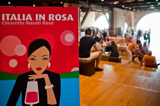 Italia in Rosa - Weinfest des Chiaretto in Moniga del Garda - Gardasee