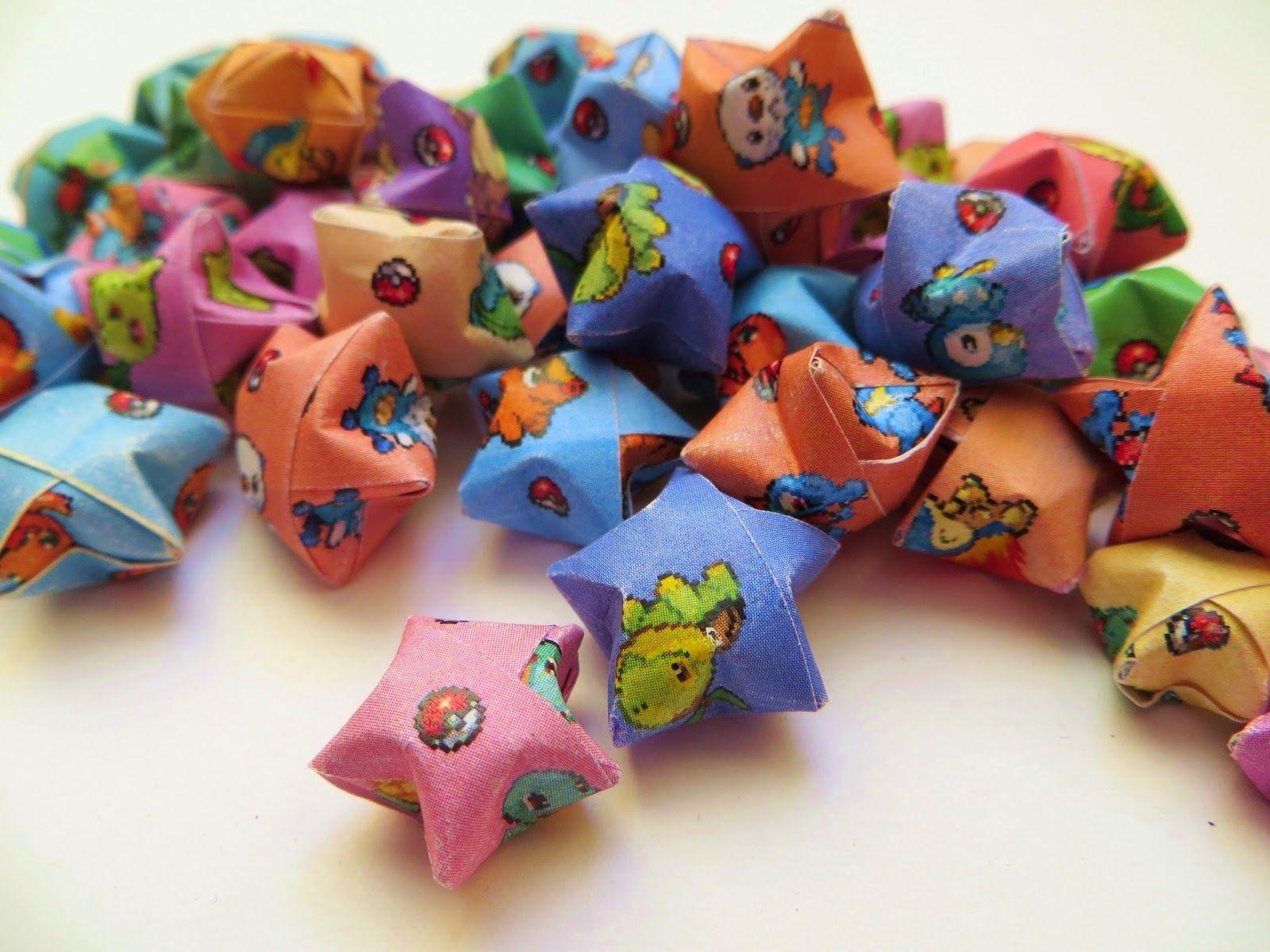 Diversion Showcase: Gotta Catch 'Em All!  #pokemon #origami #stars #freedownload
