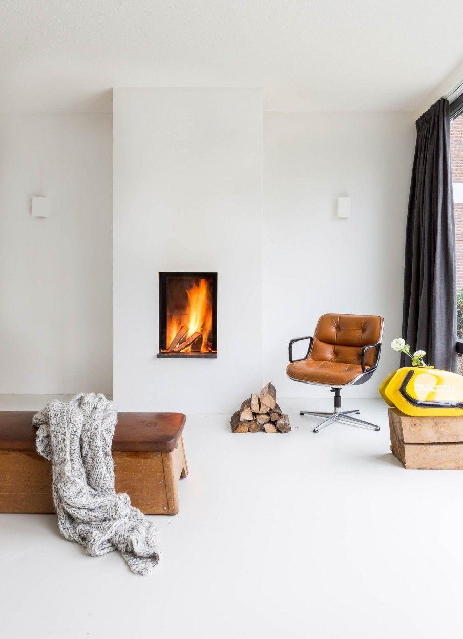 1 haard wit gymtoestel woonkamer pinterest hearths wall
