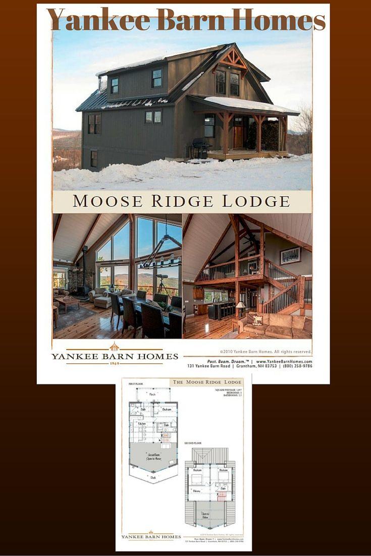 Moose Ridge Lodge Floor Plans Barn House Design