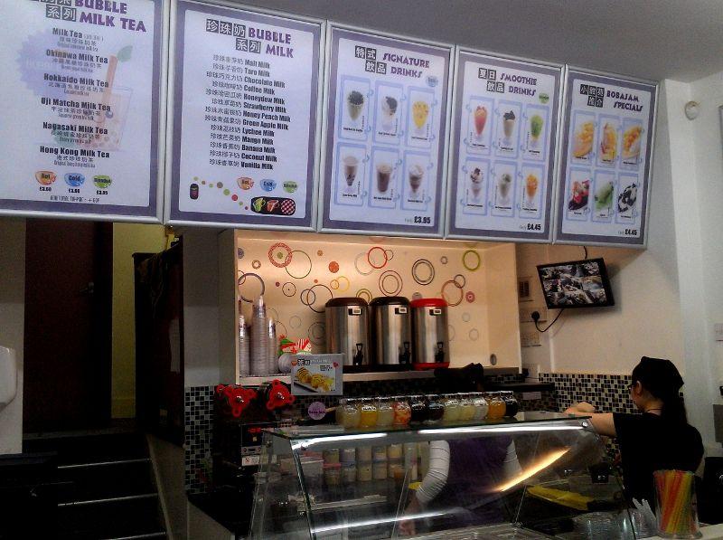 2013 London\'s Top Ten Best Bubble Tea Shops   Bobas Fine Milk Tea ...