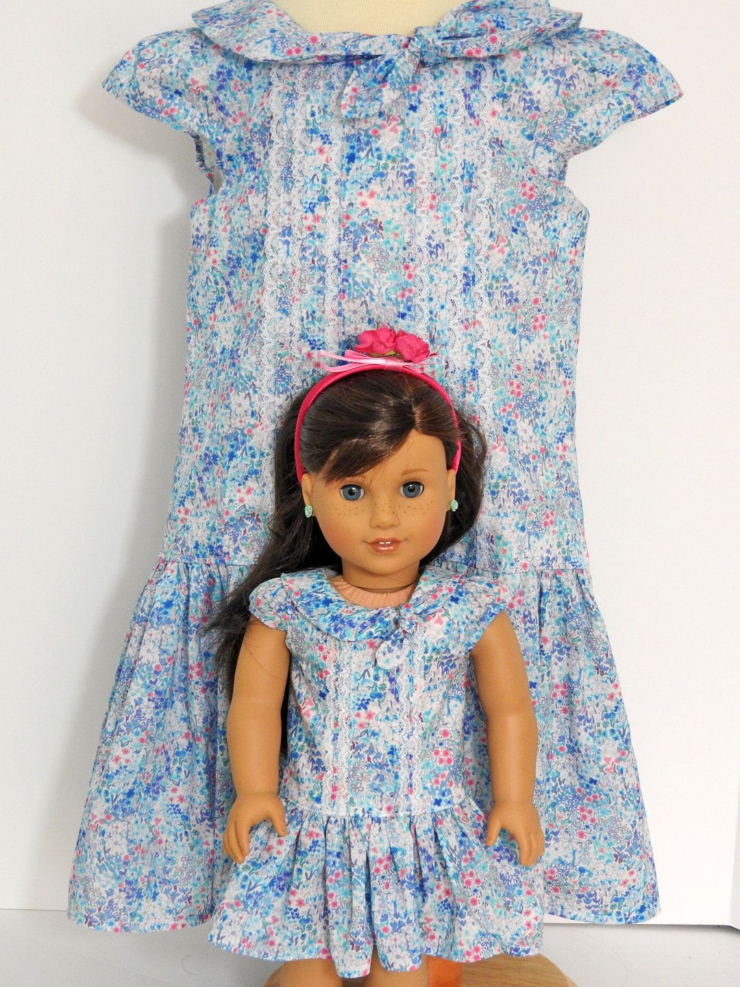 Doll and Me Matching Girl and Doll Dresses | Pinterest