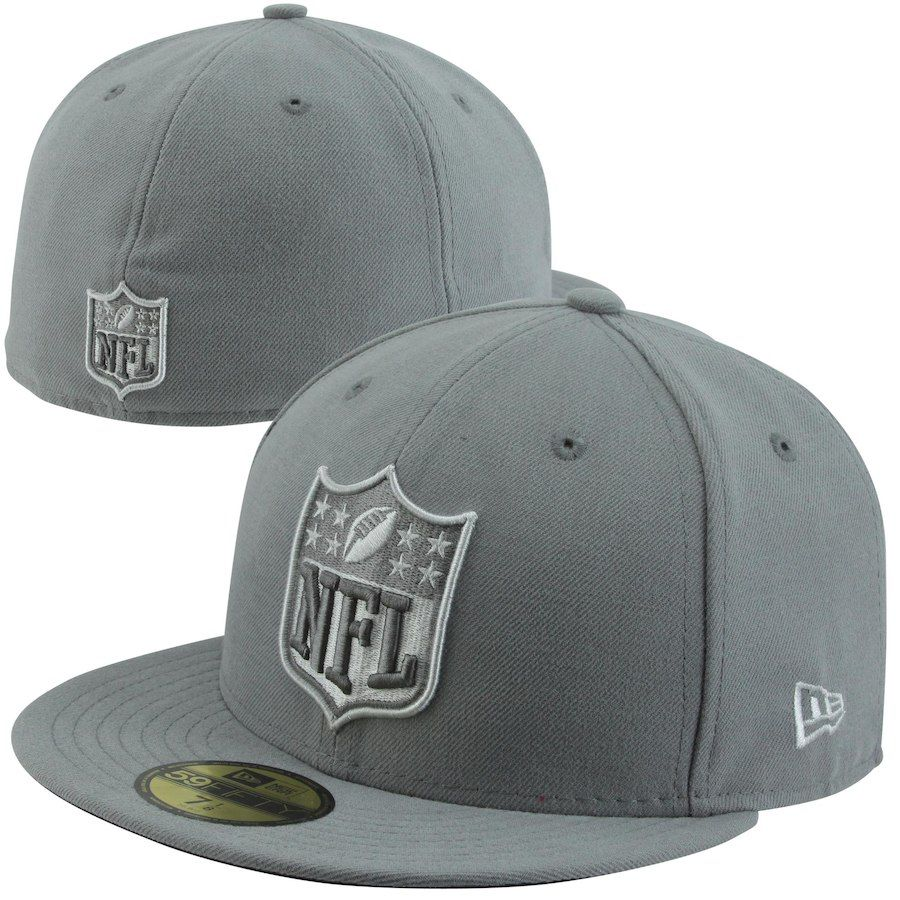 New Era NFL Shield 59FIFTY Fitted Hat - Gray c320f8679382