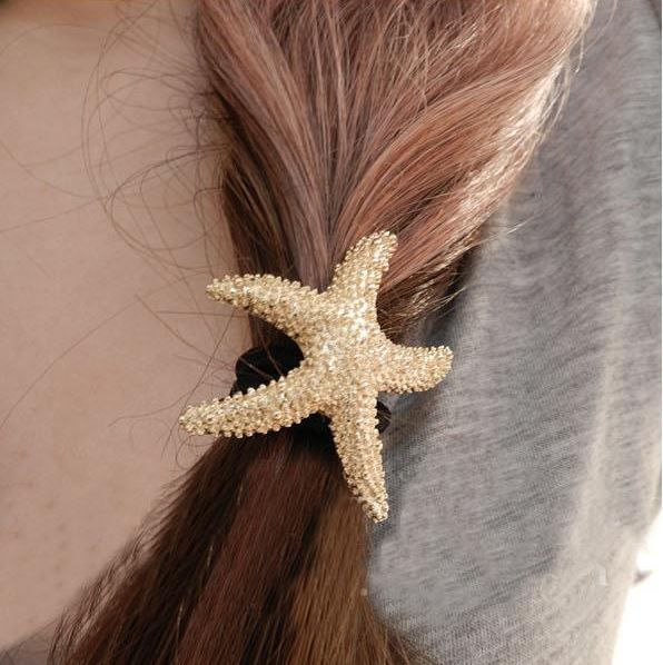 Let the starfish whispering the song of the ocean from your hair...