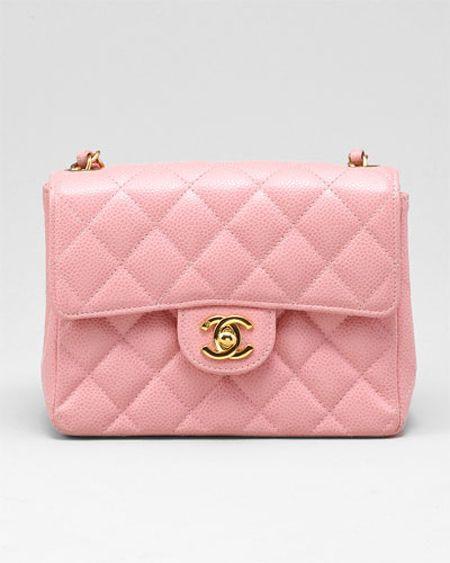 f4d7b197b8a5 Chanel Quilted Lambskin 2.55 Flap Bag pink | I love Handbag ...