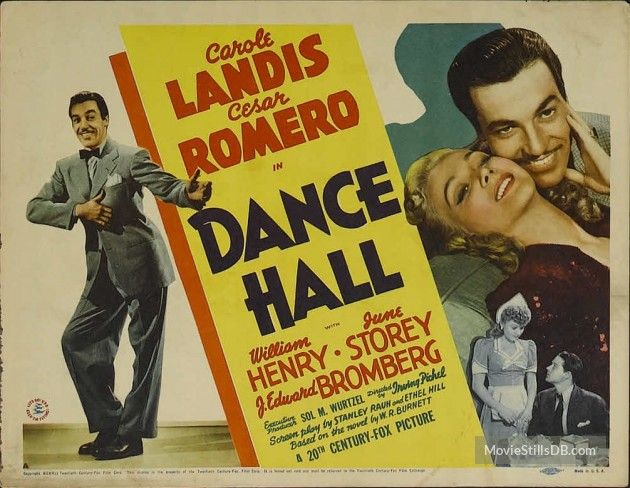 Dance Hall - Lobby card