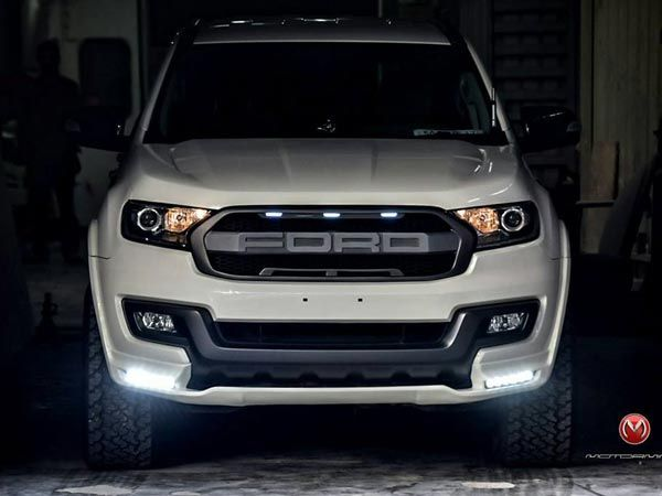 The 2016 Ford Endeavour Is One Of The Beefier Looking Suv In The
