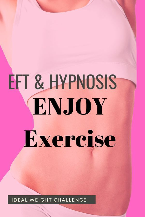 14 Proven Weight loss for women over 40 Advice Hypnosis and EFT to enjoy exercise EFT and Hypnosis downloads to help you enjoy exercise