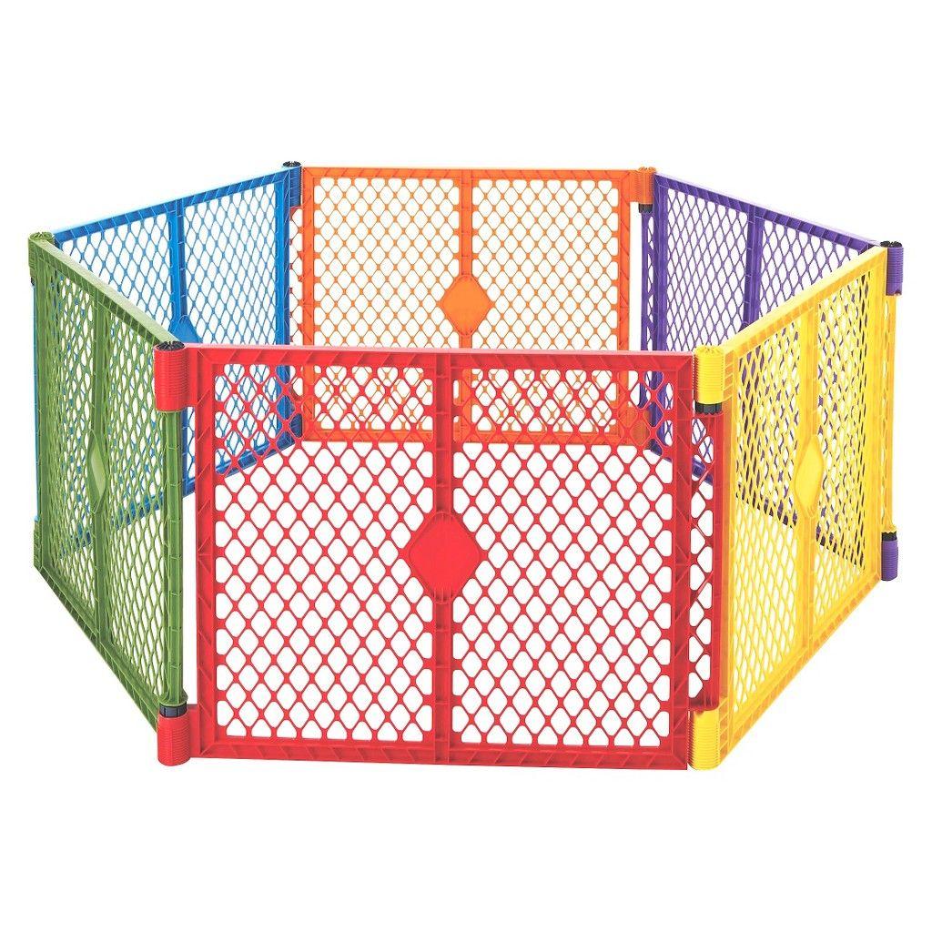 Yards Area SuperYard Extension Kit Baby Gate Play Yard Safety Panel Child Set