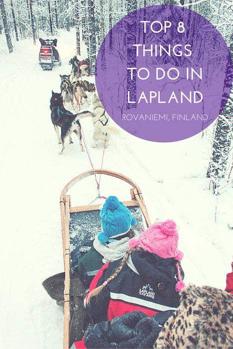Laponia es el destino de la Navidad de la familia final. Y aquí están nuestras 8 mejores cosas que puedes hacer mientras estés en Rovaniemi