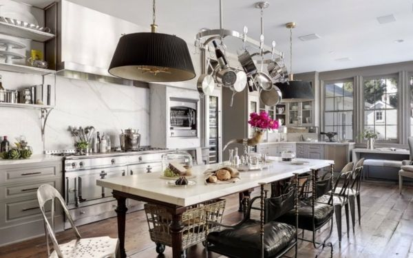 Vintage küche deko  Vintage-Küche lichtgrau | Einrichtungstipps | Pinterest ...
