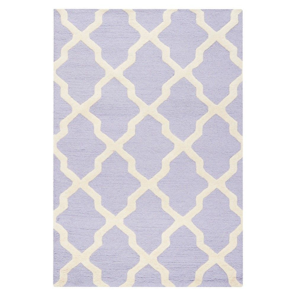Safavieh maison textured area rug light blue ivory u x
