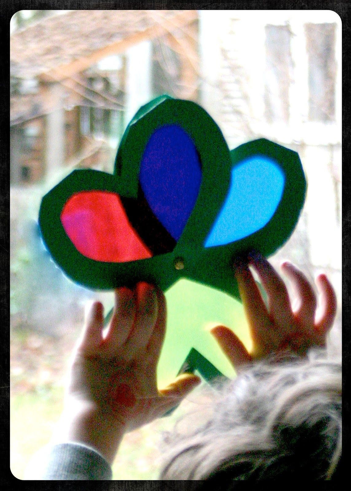 Mama\'s Little Muse: Shamrock Color Viewer: a craft and a tool in one ...