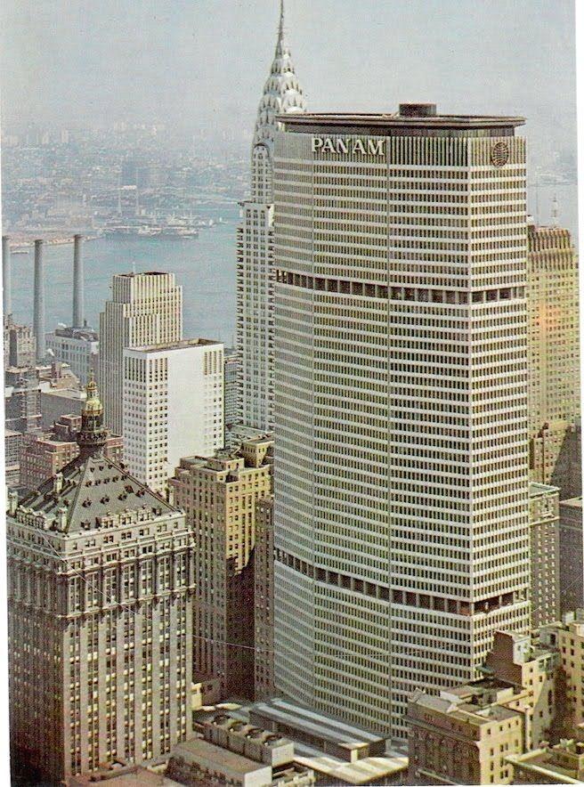 time gone. tomvasconcelos: Pan Am Building | Vintage new