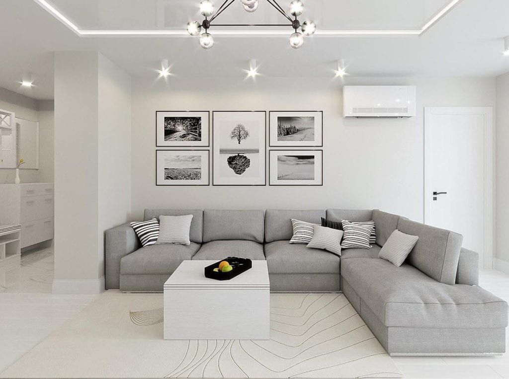 Celebrating 20 Years Of The Grand Designs Tv Show Cll Modern Grey Living Room Living Room Grey Grey Sofa Living Room