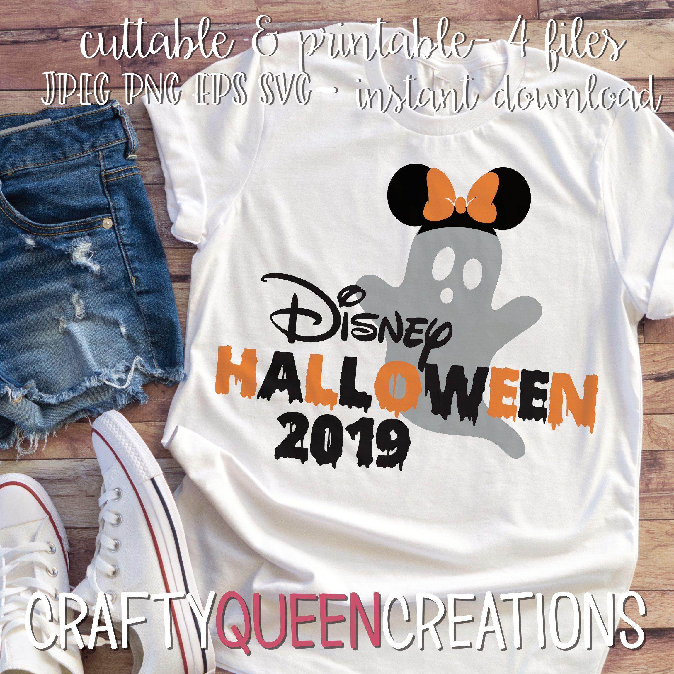 Disney Halloween 2019 SVG Disney halloween, Halloween