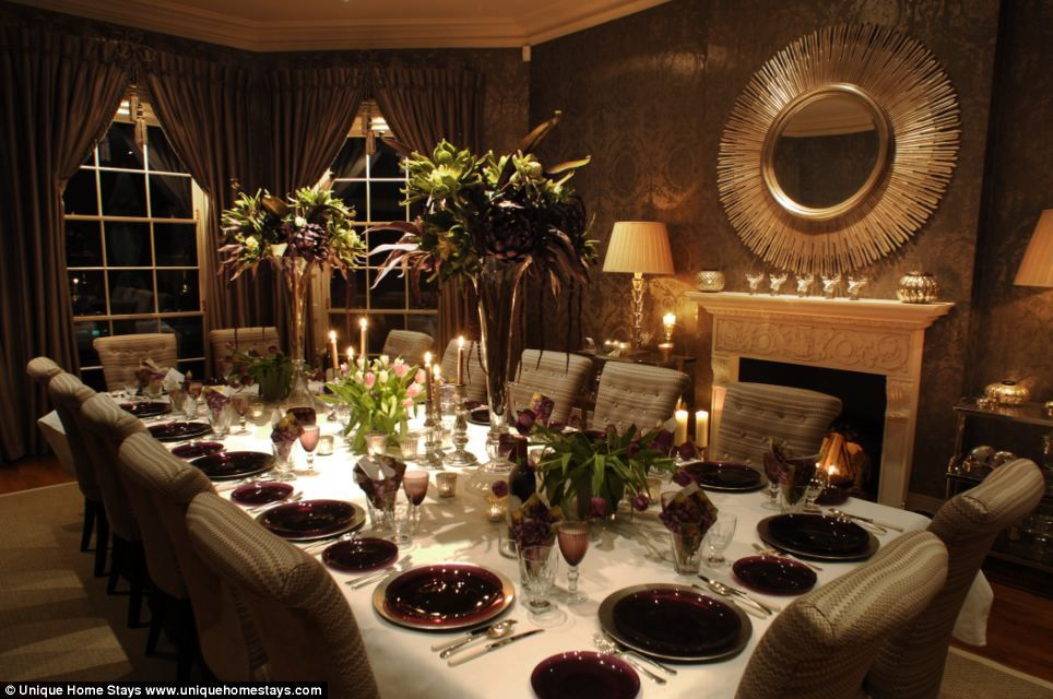 Is this the most luxurious place to spend Christmas Sevenbedroom
