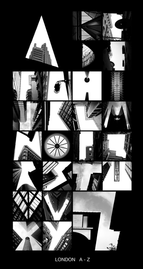 ALPHATECTURE by Peter Defty | London A-Z