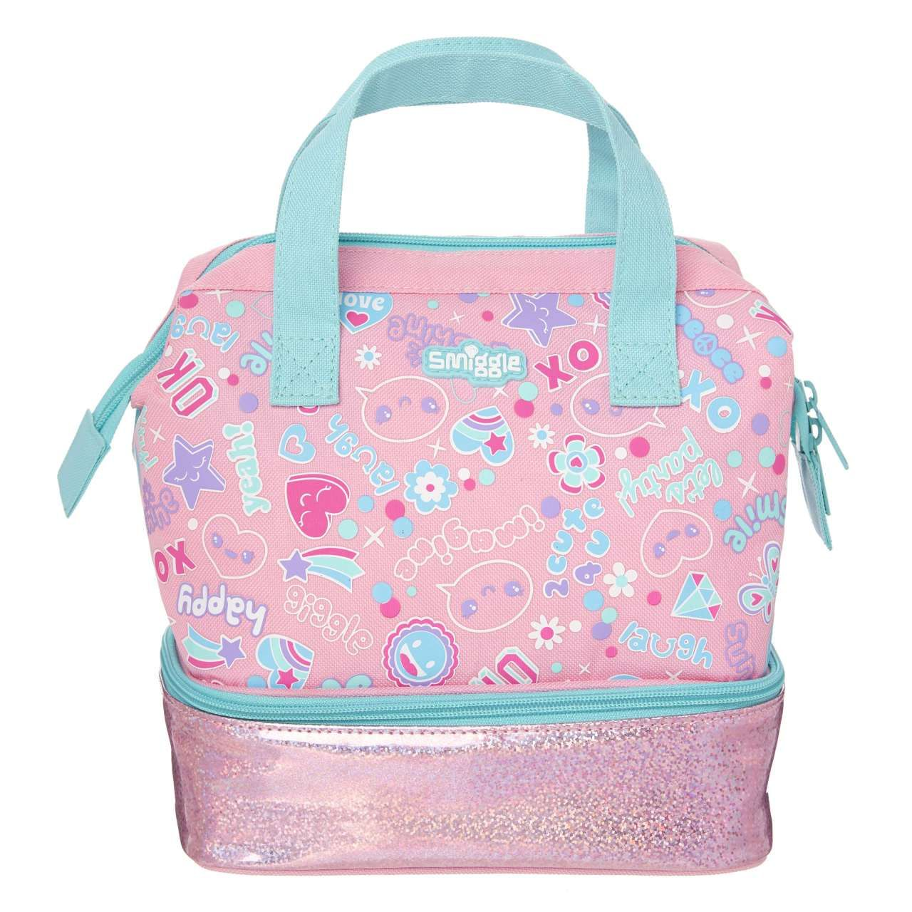 Open Up Lunch Box Pink Smiggle Online | Girls rolling