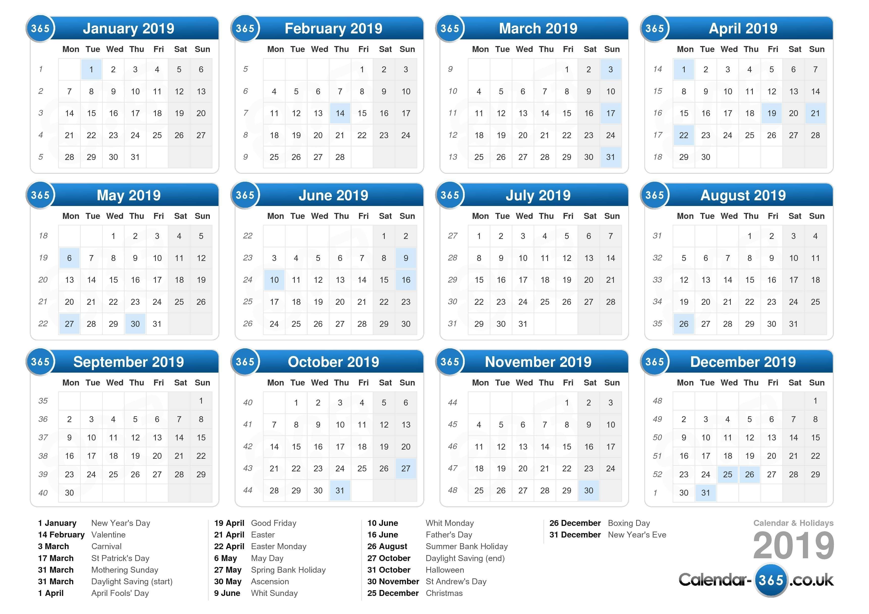 Calendar 2019 Catch Check More At Https Photobrunobernard Com Mauriciovandervort Take Bank Holidays In Dec Calendar Download Monthly Calendar Online Calendar