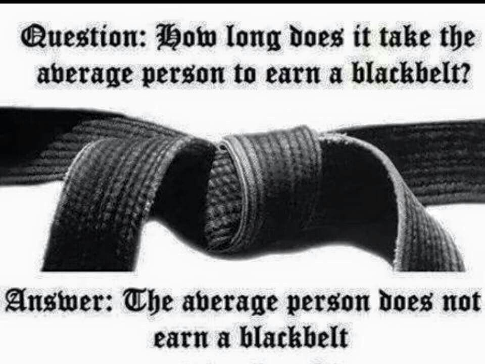 How Long It Takes To Get Black Belt In Karate