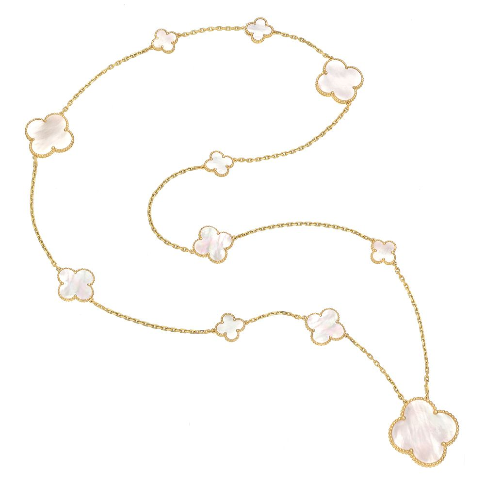 Van Cleef & Arpels Magic Alhambra Long Necklace