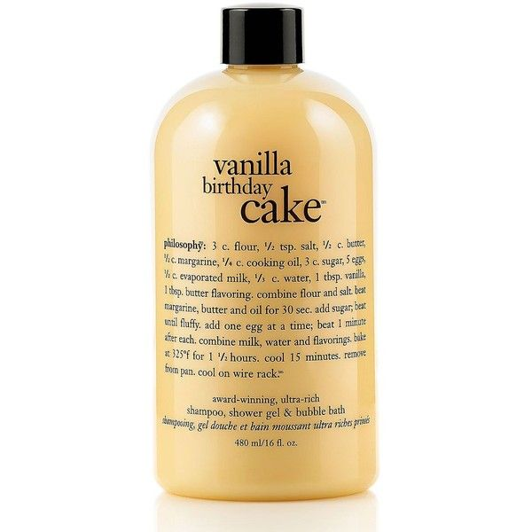 Philosophy Vanilla Birthday Cake Shower Gel 16 Oz 23 Cad Liked
