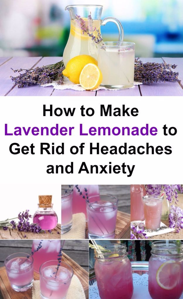 Lavender Lemonade Is The Best And Most Natural Way To Get Rid Of Headaches and Anxiety