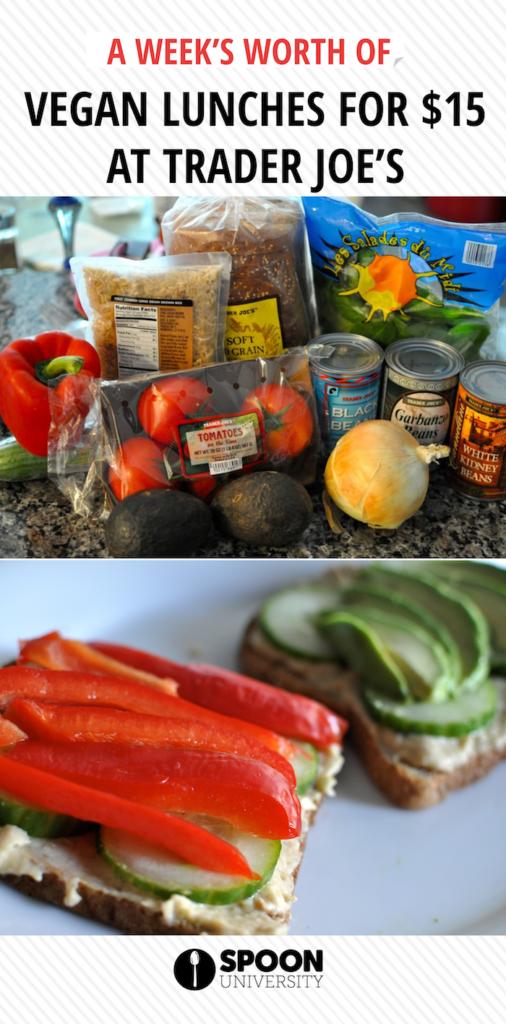 Open Faced Homemade Hummus And Veggie Sandwich