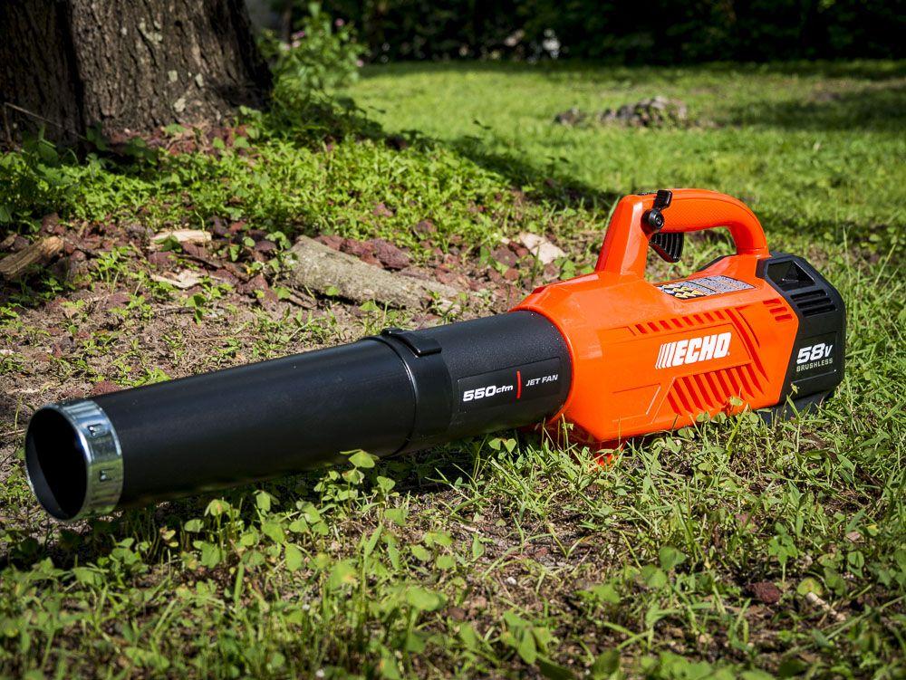 Echo 58v Cordless Blower Review Model Cplb 58v2ah Gen 2 Ptr Blowers Leaf Blower Landscaping Equipment