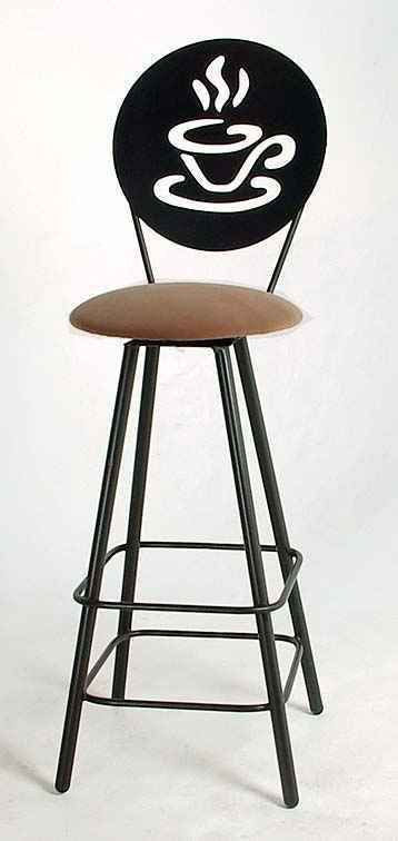 Swivel Coffee Cup Design Bar Stools With Backs Counter Height
