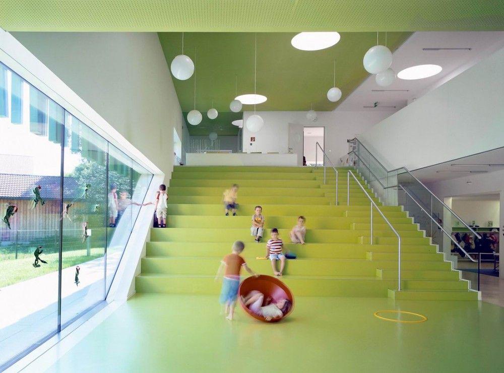kindergarten sighartstein / kadawittfeldarchitektur | salzburg, Innenarchitektur ideen