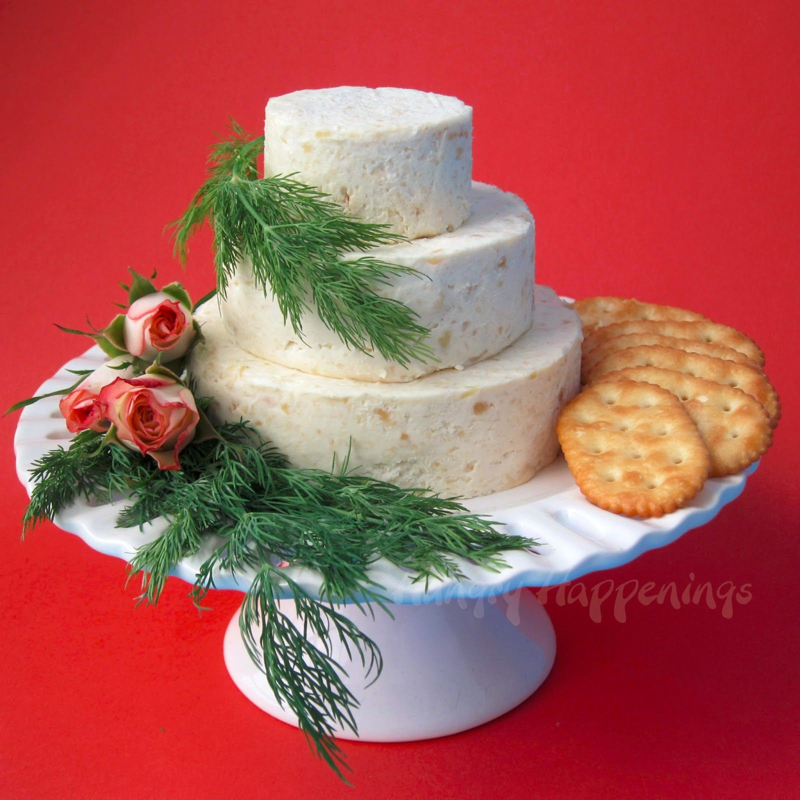 Wedding Cake Cheese Ball Special Occasion Appetizer Wedding