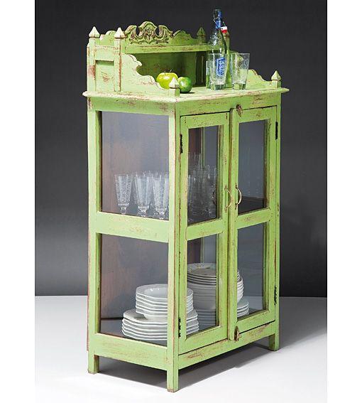 Alacena vintage verde alicia en tu tienda de muebles online d - Alacenas vintage ...