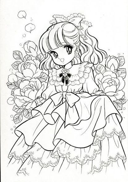 Pin By Little Girl On Cute Vintage Coloring Books Coloring Books Cute Coloring Pages
