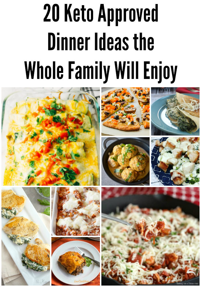 20 Keto Approved Dinner Ideas the Whole Family Will Enjoy images
