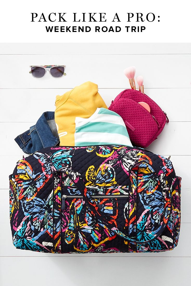 Everything You Need To Pack For Your Weekend Road Trip