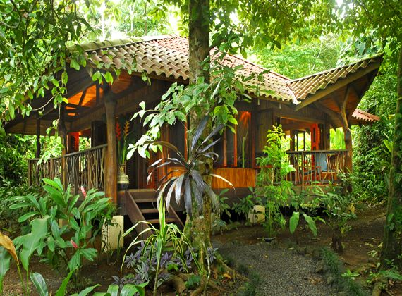 Playa Nicuesa Bungalow From Our Costa Rica Adventure Vacation - Costa rica tour packages