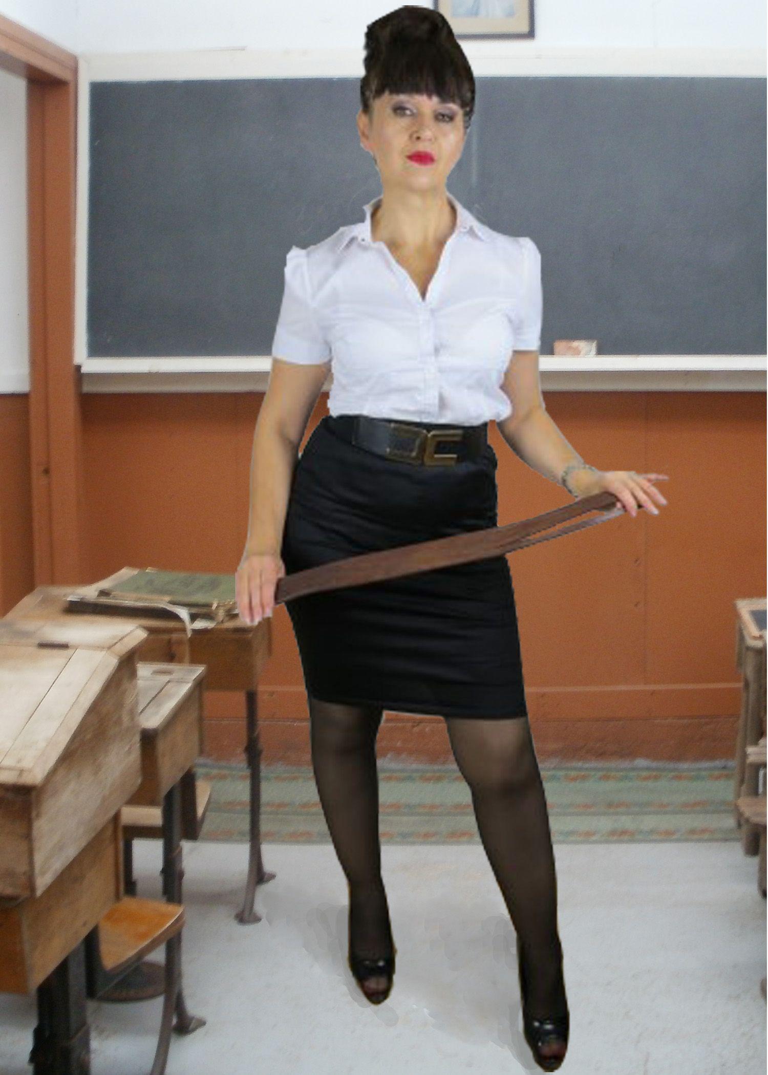 British finishing school spanking - 4 2
