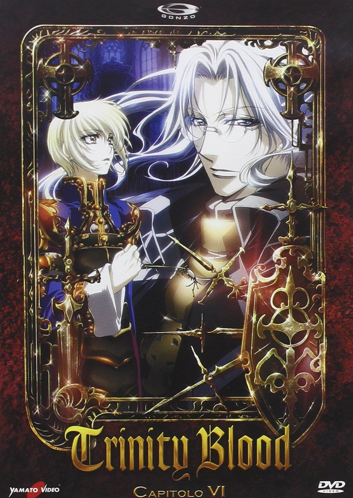 Trinity Blood Memorial Box 2 (3 DVD) Blood, Trinity,