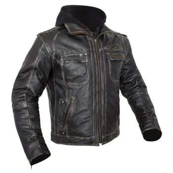 CUSTOM BILT - Drago Leather Motorcycle Jacket - Leather - Jackets ...