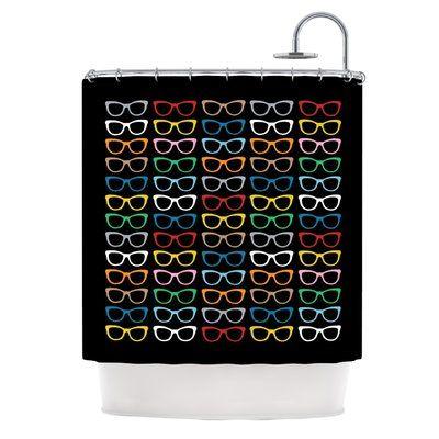 KESS InHouse Single Shower Curtain | Wayfair