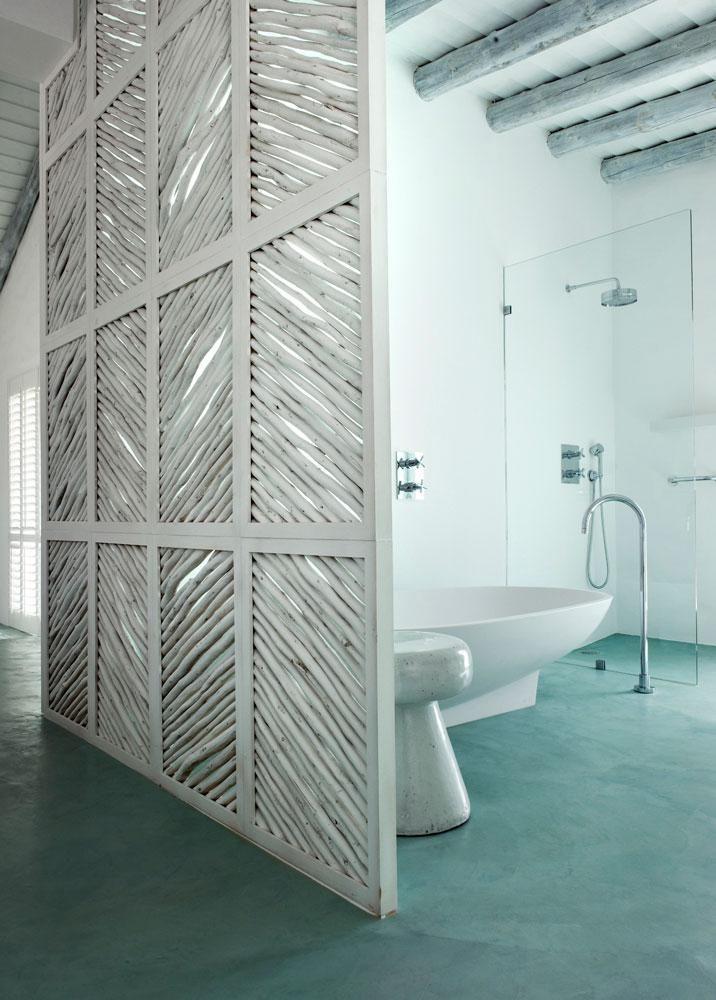 Béton ciré pour sol de salle de bain u2013 Etanche et antidérapant - antiderapant salle de bain
