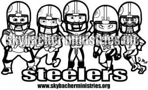 Awesome Printable Steelers Pictures Football Coloring Pages