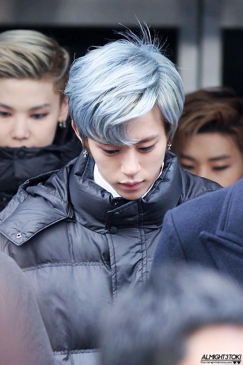 Daehyun When Had He This Hair Colour O O Kpop Hair Color Men Hair Color Mens Hair Colour