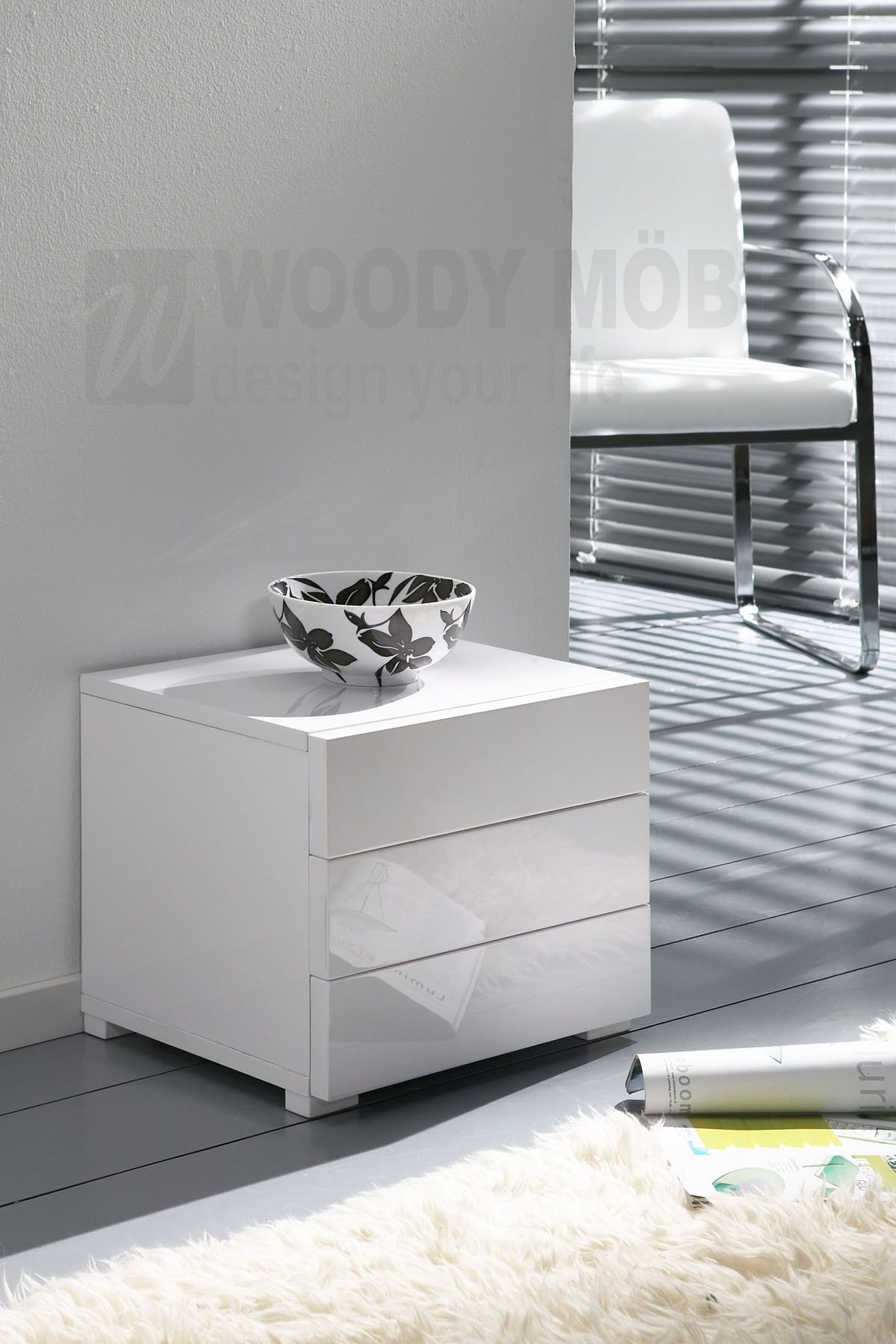 Kommode Weiss Hochglanz Woody 83 00154 Modern Jetzt Bestellen Unter