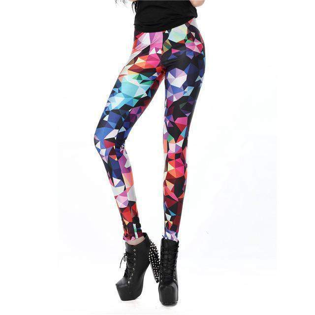 New Fashion Women leggings 3D Printed color